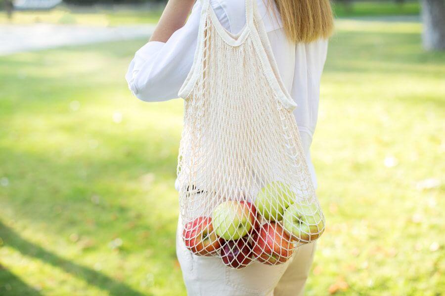 Reusable shopping bag.